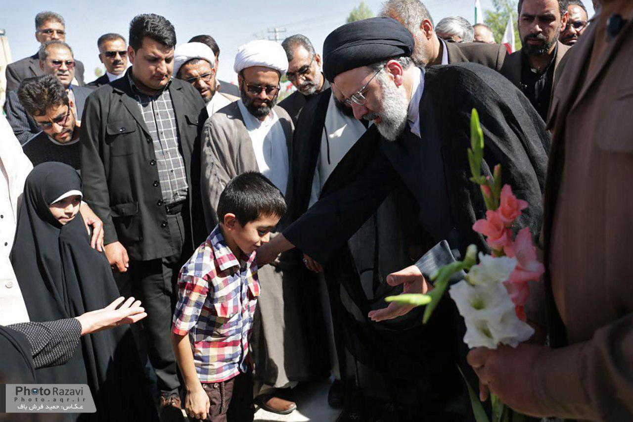 گزارش تصویری: ورود حجتالاسلام رئیسی به زاهدان