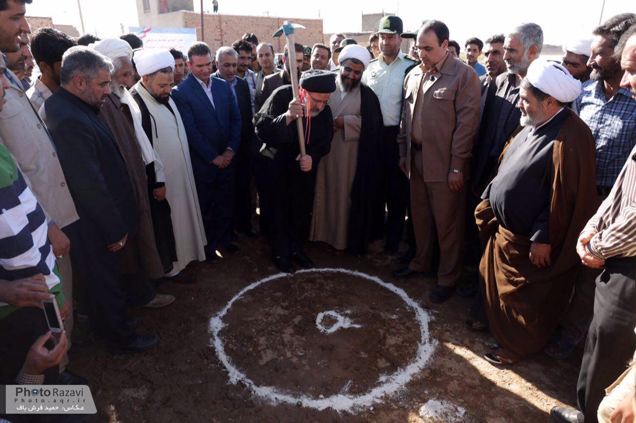 کلنگ احداث مجتمع فرهنگی خاتم الانبیاء(ص) سربیشه زده شد