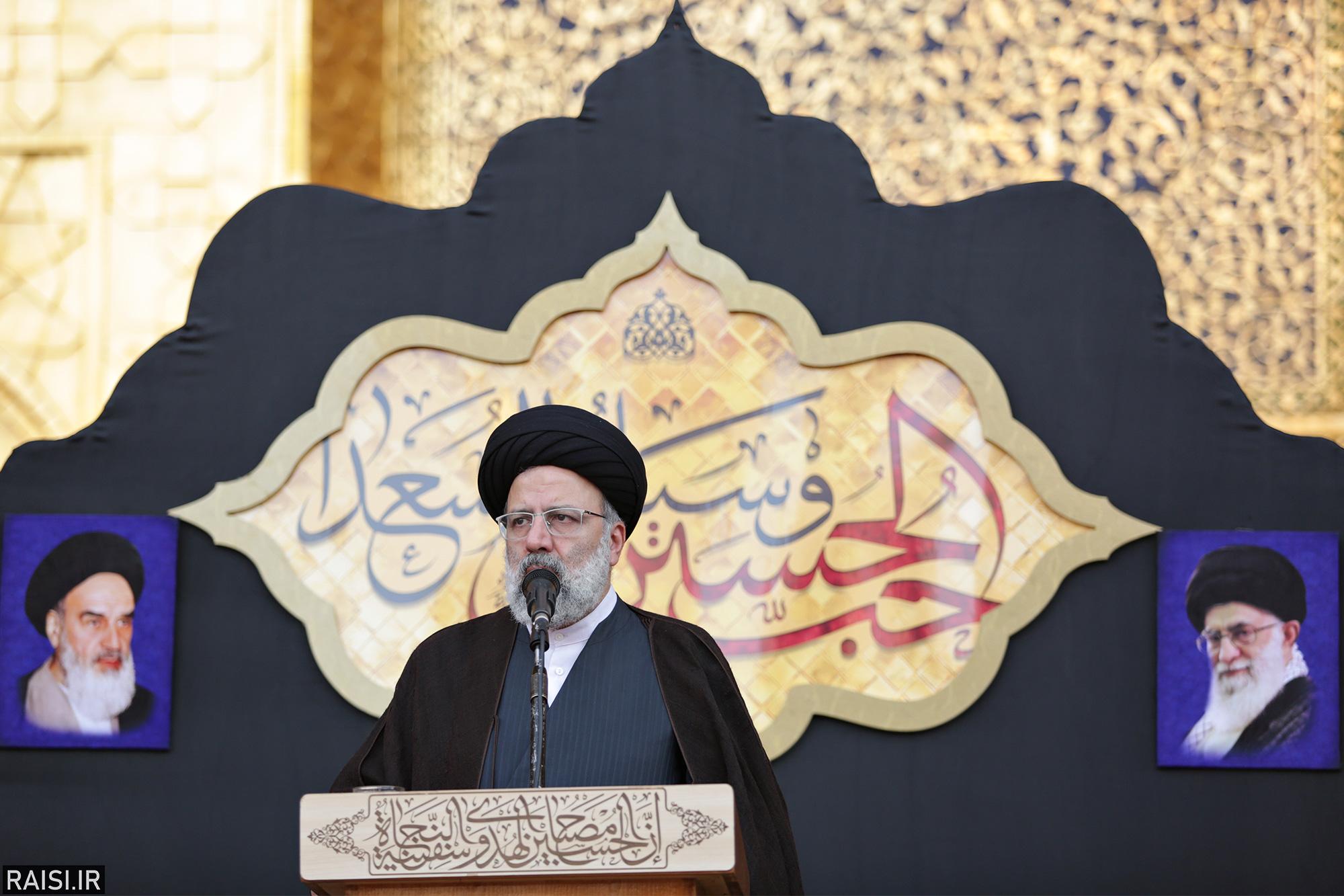 گزارش تصویری(2) آیین اذن عزا با حضور تولیت آستان قدس رضوی