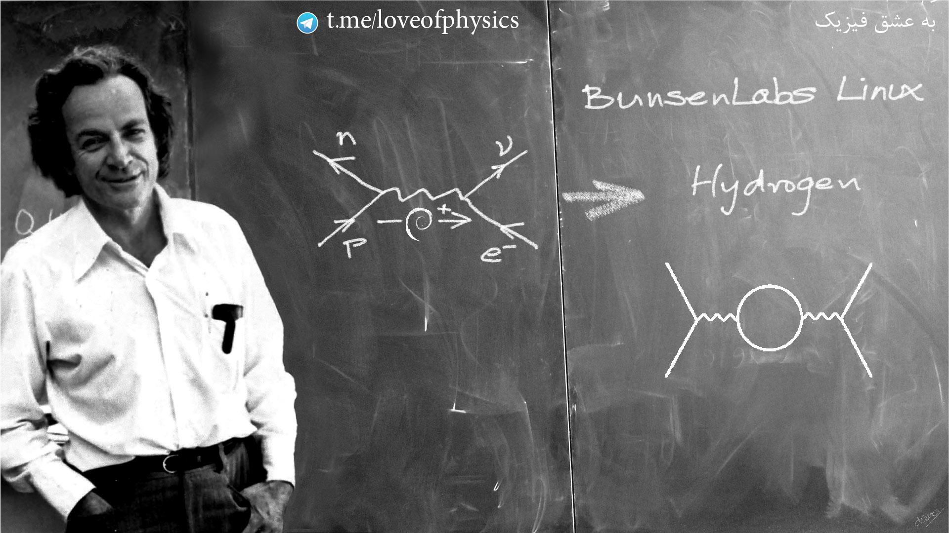 ریچارد فاینمن در کلاس درس