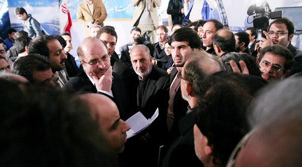 مراسم افتتاح پل تقاطع آزادگان - شهید حکیم