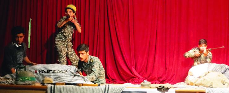تئاتر گرداب در شهر بردخون برگزار شد +8 عکس