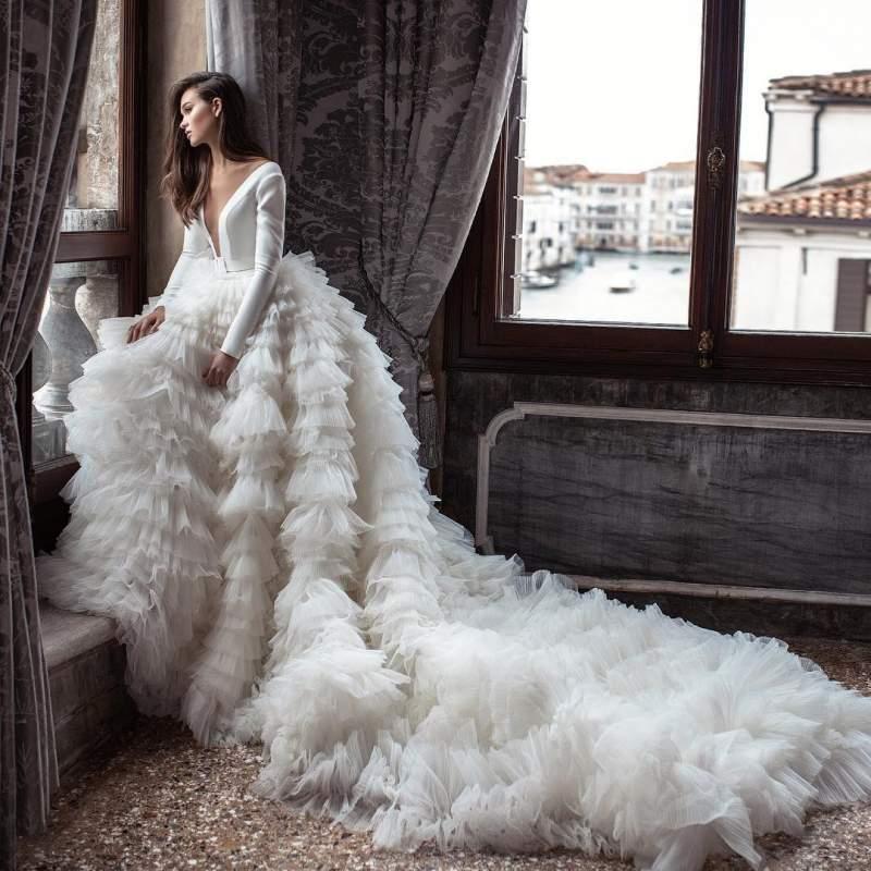 لباس عروس ژورنالی 2019