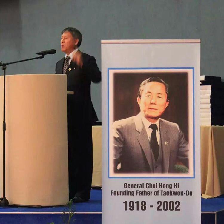 استاد بزرگ ری یونگ سون ریاست جدید ITF