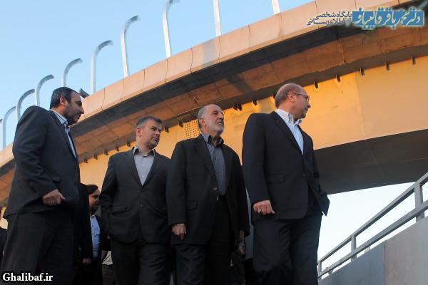 بازدید سحرگاهی شهردار تهران از پروژه طبقاتی صدر