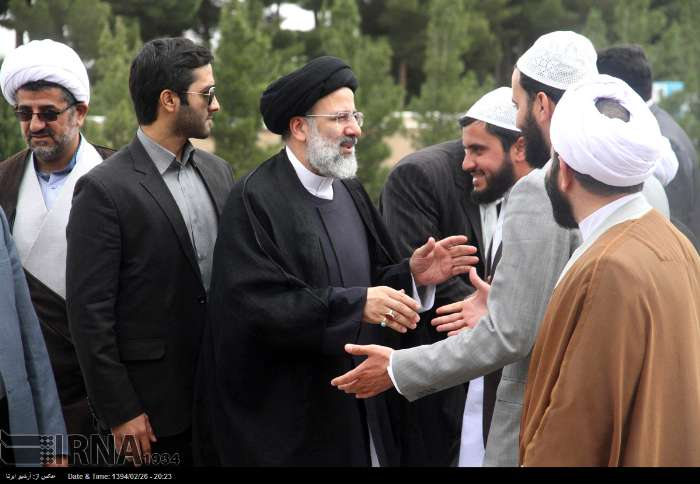 برنامه های حضور حجت الاسلام و المسلمین رئیسی در شهرستان سرایان