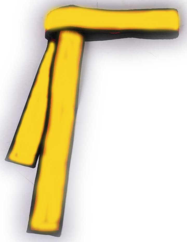 شال زرد