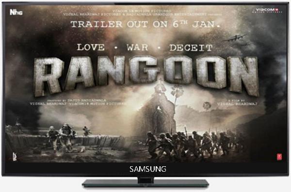 دانلود فیلم Rangoon 2017 رانگون