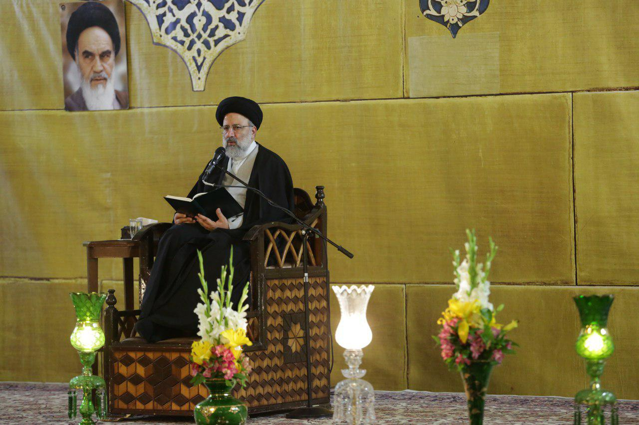 حجت الاسلام رئیسی: به معاد توجه کنیم خیلی از کارها را انجام نمیدهیم