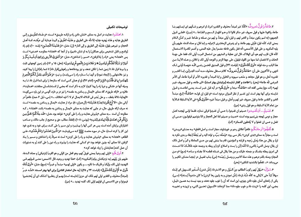 در محضر قرآن - حاشیه لغوی-ادبی استاد حمید رضا مستفید