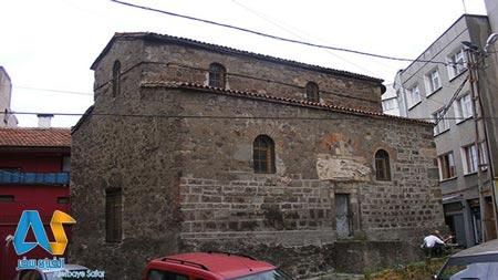 کلیسای سنت آون  در ترابزون - الفبای سفر