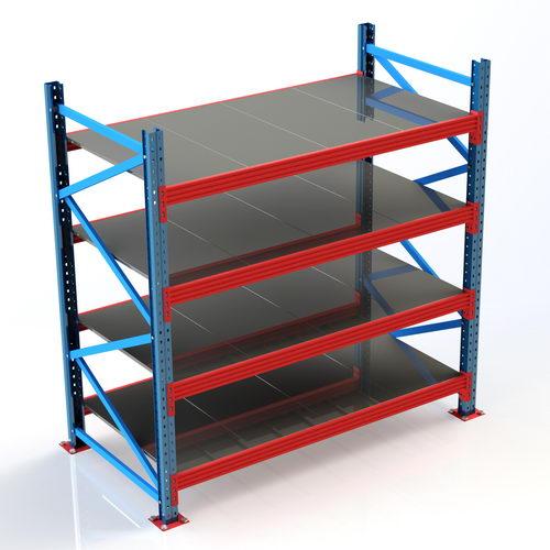 مدل سه بعدی آماده قفسه فلزی