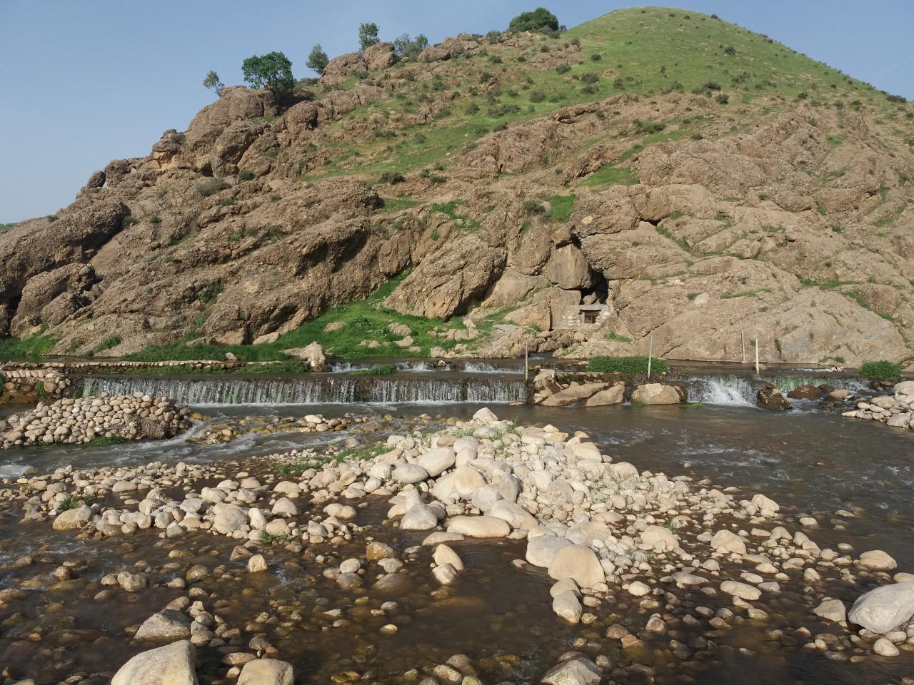 سراب و چشمه دره اسپر دورود