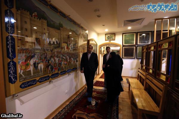 مراسم افتتاح بنیاد امیرکبیر
