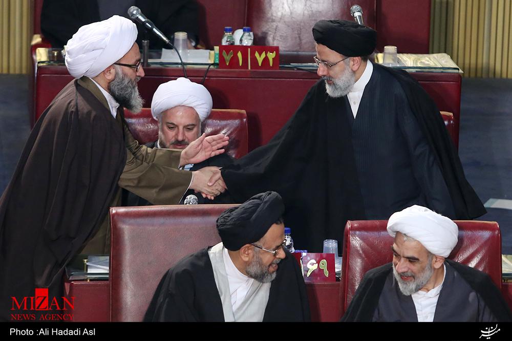 حضور حجت الاسلام و المسلمین رئیسی در نوزدهمین اجلاسیه مجلس خبرگان رهبری