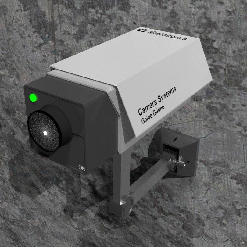 مدل سه بعدی دوربین