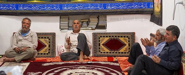 گزارش کامل عزاداری محرم در 4مسجد روستای آبکش