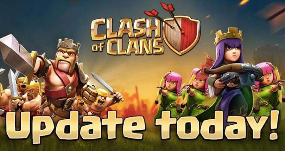 دانلود آپدیت شده بازی clash of clans