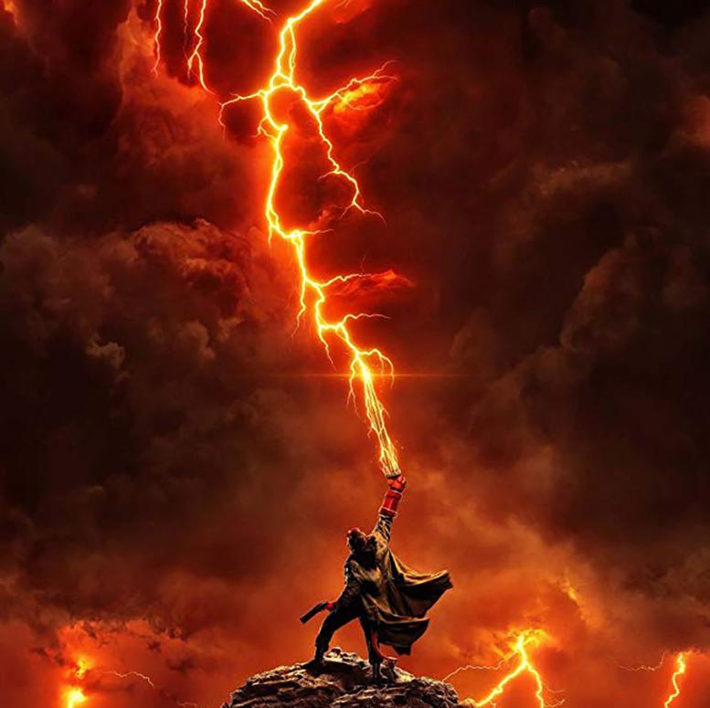 پوستر فیلم Hellboy 2019