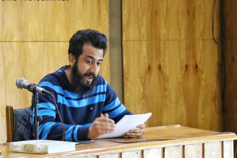 نمایشنامه خوانی شب یلدا، سید رضا موسوی