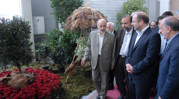 افتتاح نهمین جشنواره بین المللی گل و گیاه