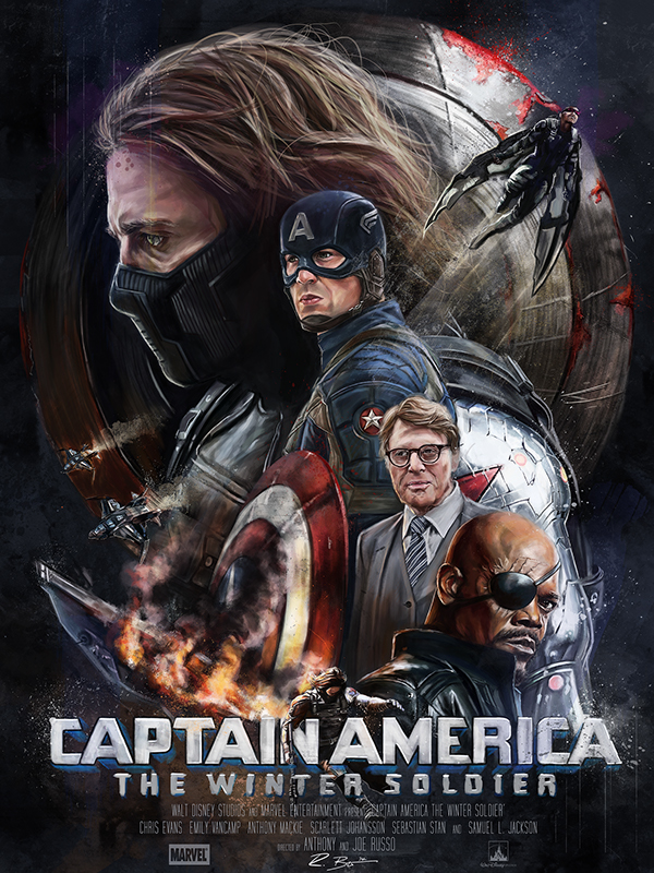 دانلود فیلم Captain America 2 : The Winter Soldier 2014