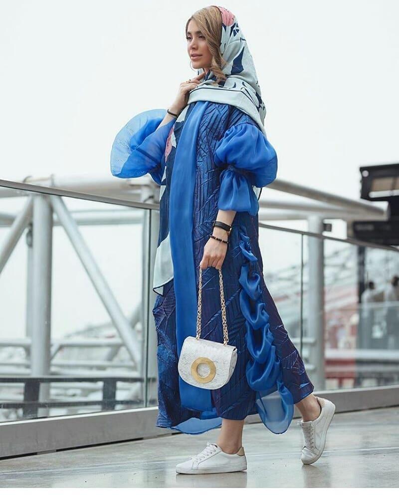 مدل مانتو تابستانی دخترانه نخی با حریر اگانزا