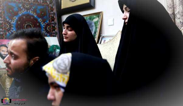 اشکهای دختر سردار قاسم سلیمانی در فراق پدر