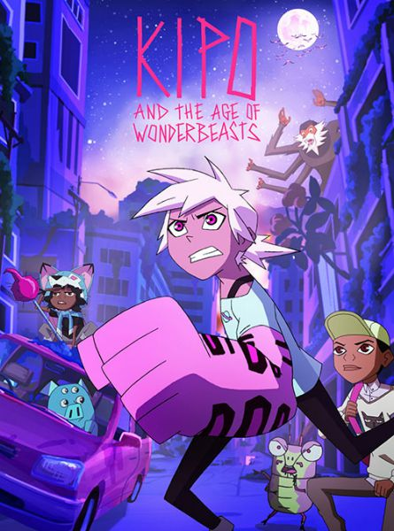 فصل دوم انیمیشن Kipo and the Age of Wonderbeasts