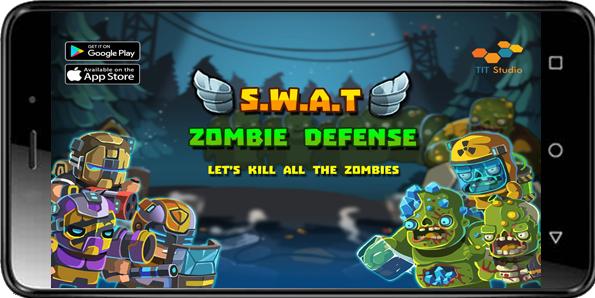 دانلود بازی SWAT Zombie Defense هک مود