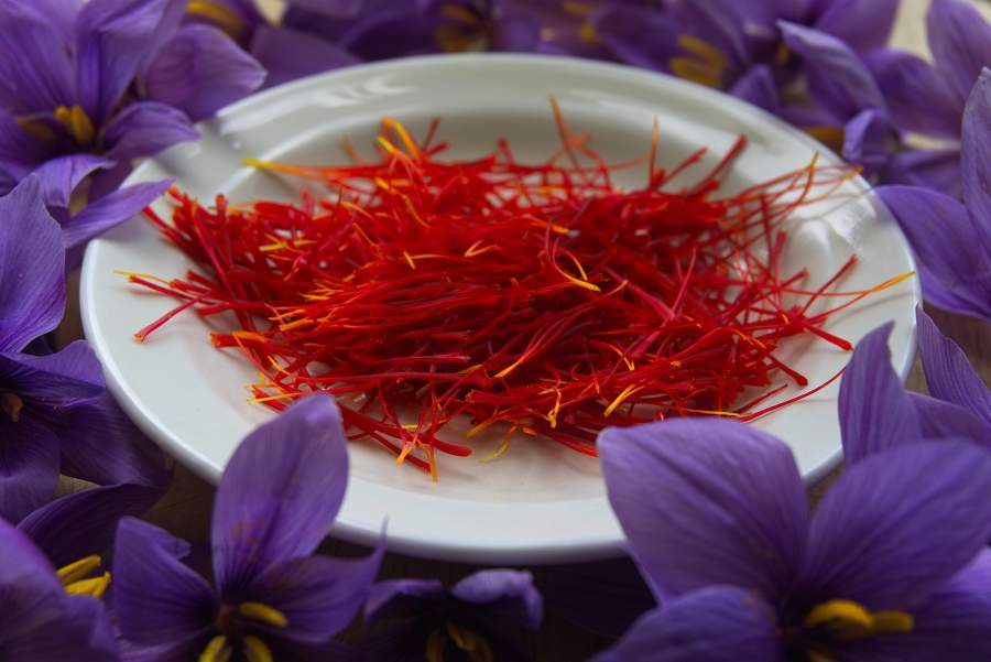 درمان کم خونی با مصرف زعفران