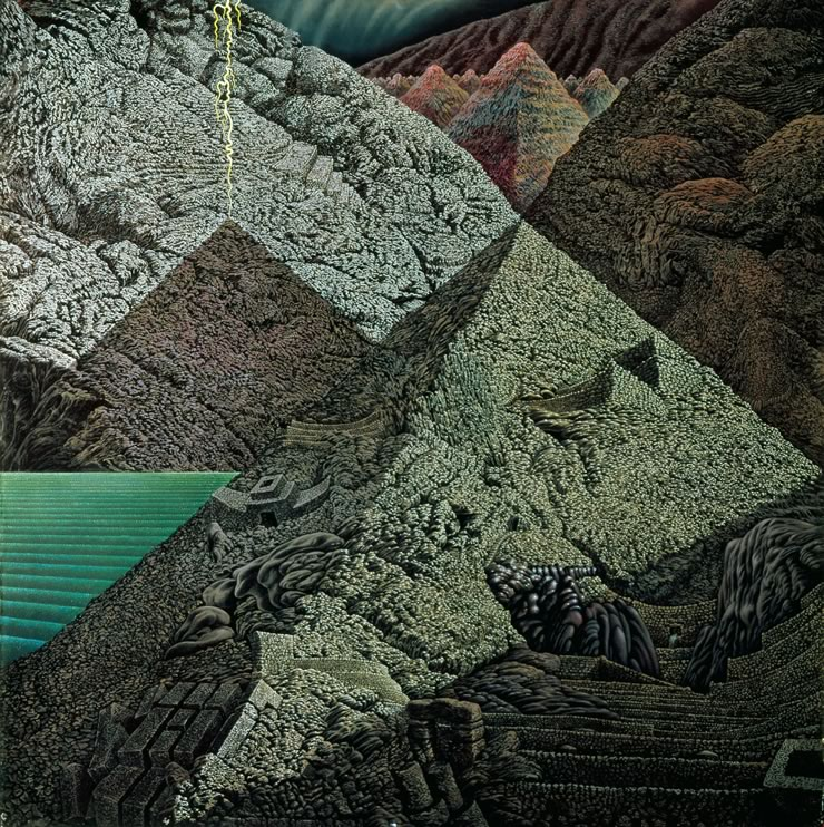 اهرام بزرگ - متی کلاروین - Great Pyramid - Mati Klarwein