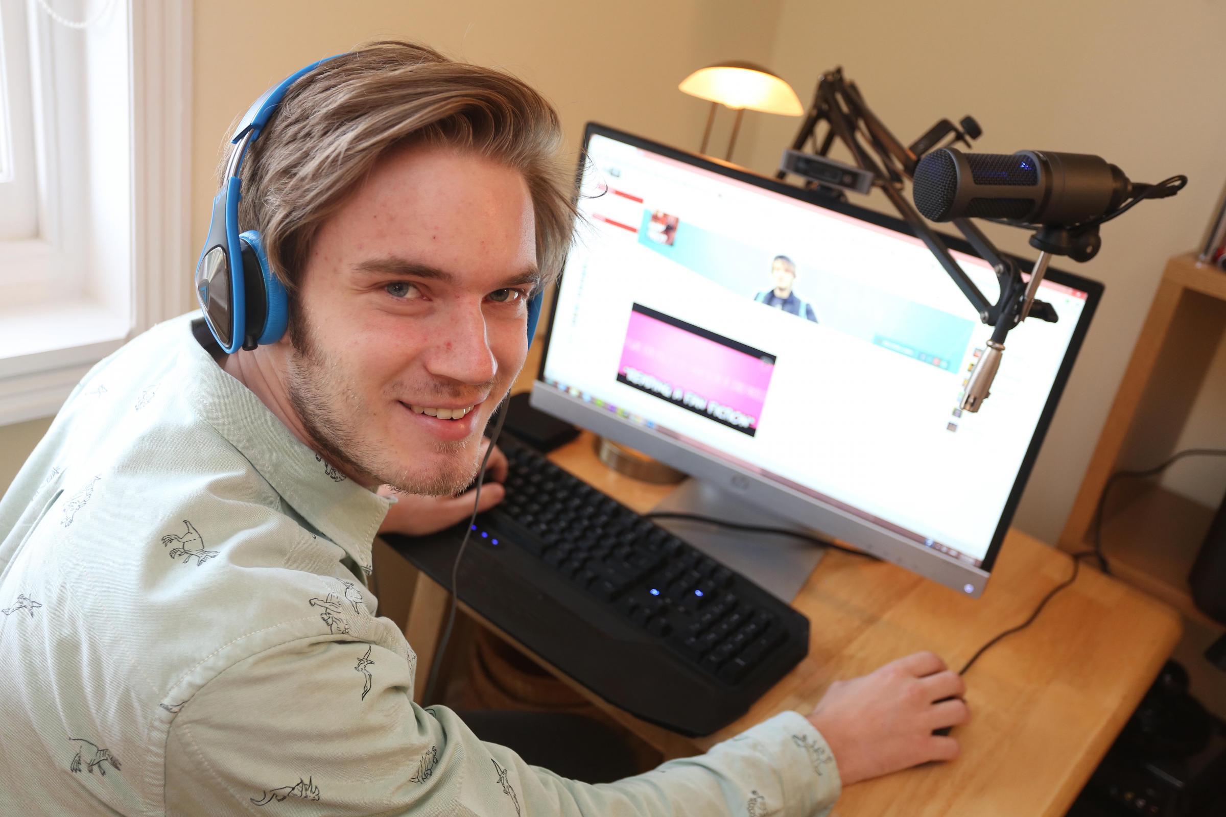 PewDiePie گیمر معرفو سوئدی