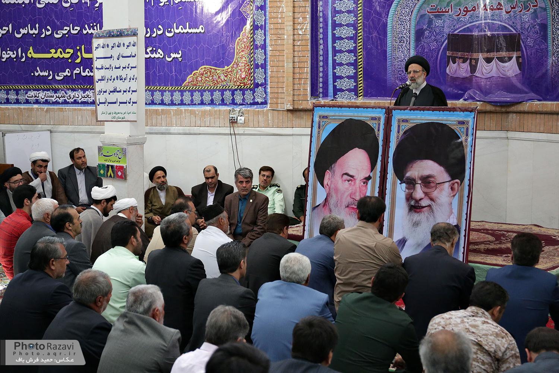 گزارش تصویری: سخنرانی تولیت آستان قدس رضوی در مسجد جامع کلات