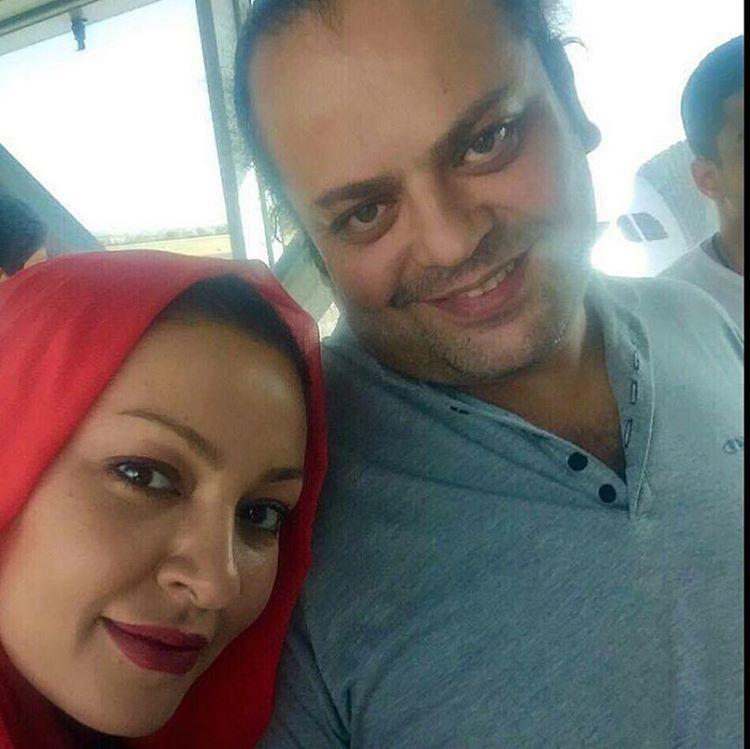 عکس جدید و دیده نشده زیبا بروفه و همسرش مهر 95