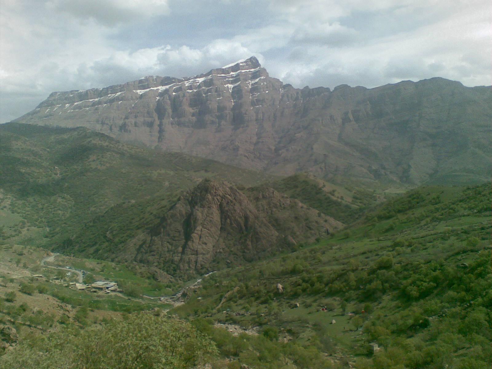 پریزکوه از منظر روستای لنج آباد