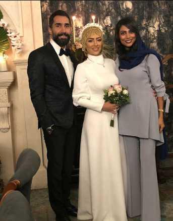لباس عقد محضری بازیگران ایرانی