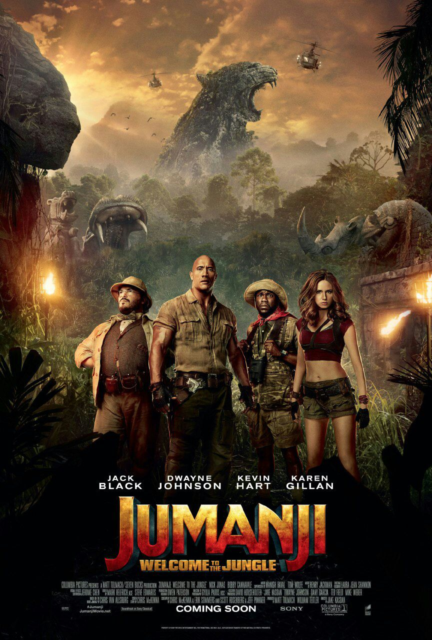 دانلود فیلم Jumanji 2 Welcome to the Jungle 2017