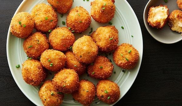 طرز تهیه غذای ساده برای شام: کراکت مرغ و پنیر