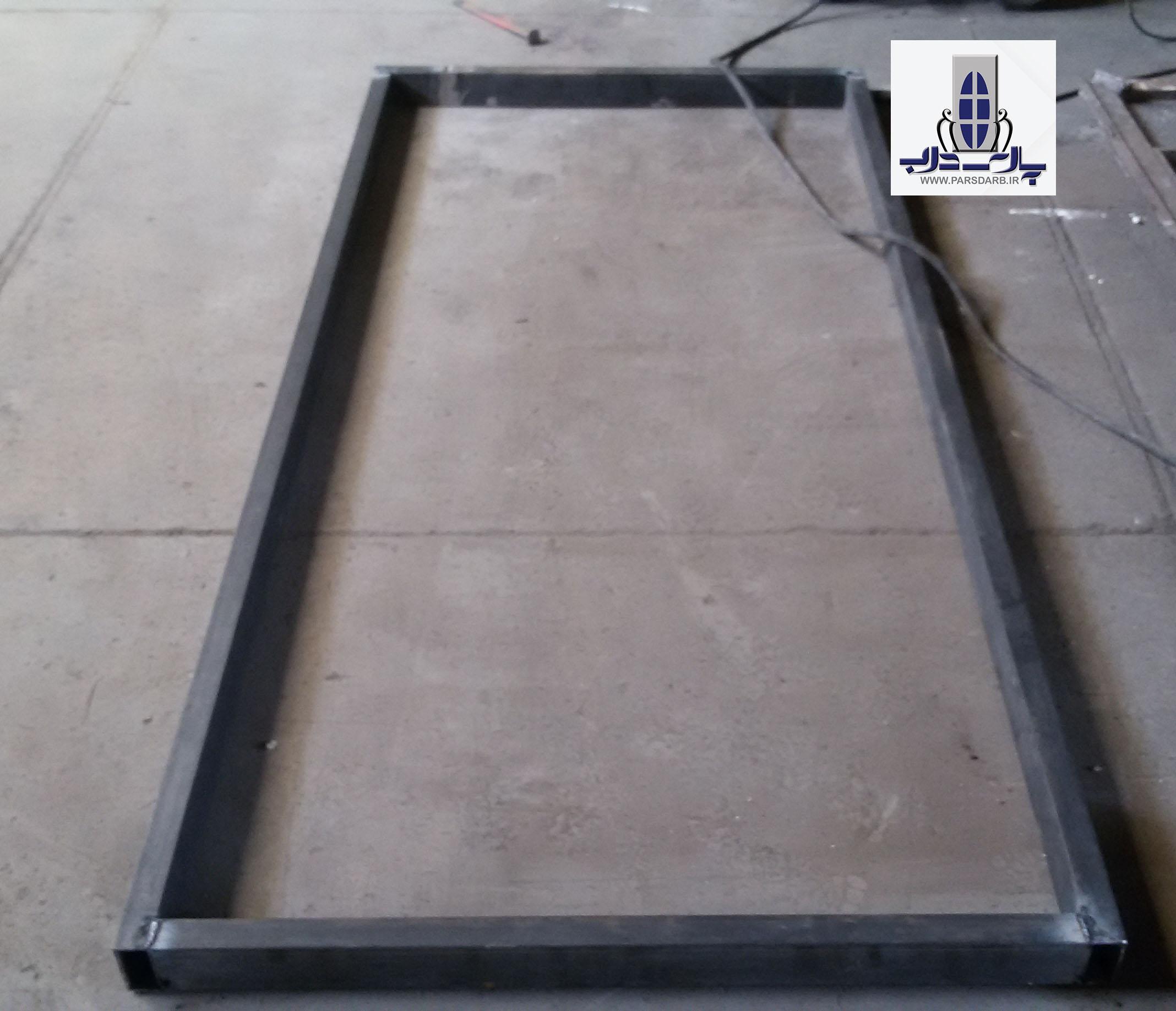 روش ساخت درب فلزی