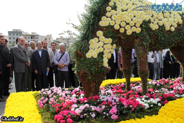 گزارش تصویری مراسم افتتاح سومین نمایشگاه فصلی گل و گیاه