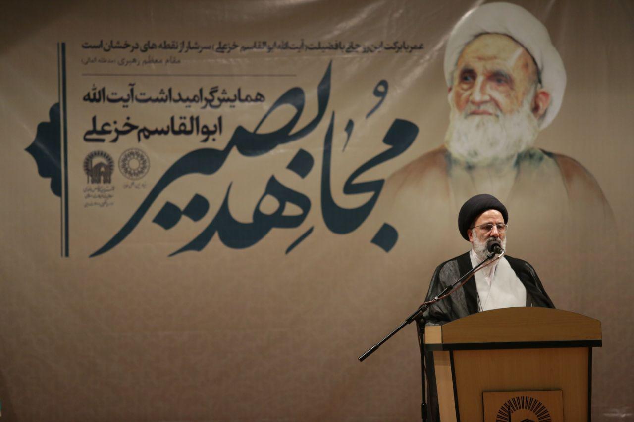 گزارش تصویری:همایش بزرگداشت آیت الله خزعلی با حضور تولیت آستان قدس حجت الاسلام رئیسی