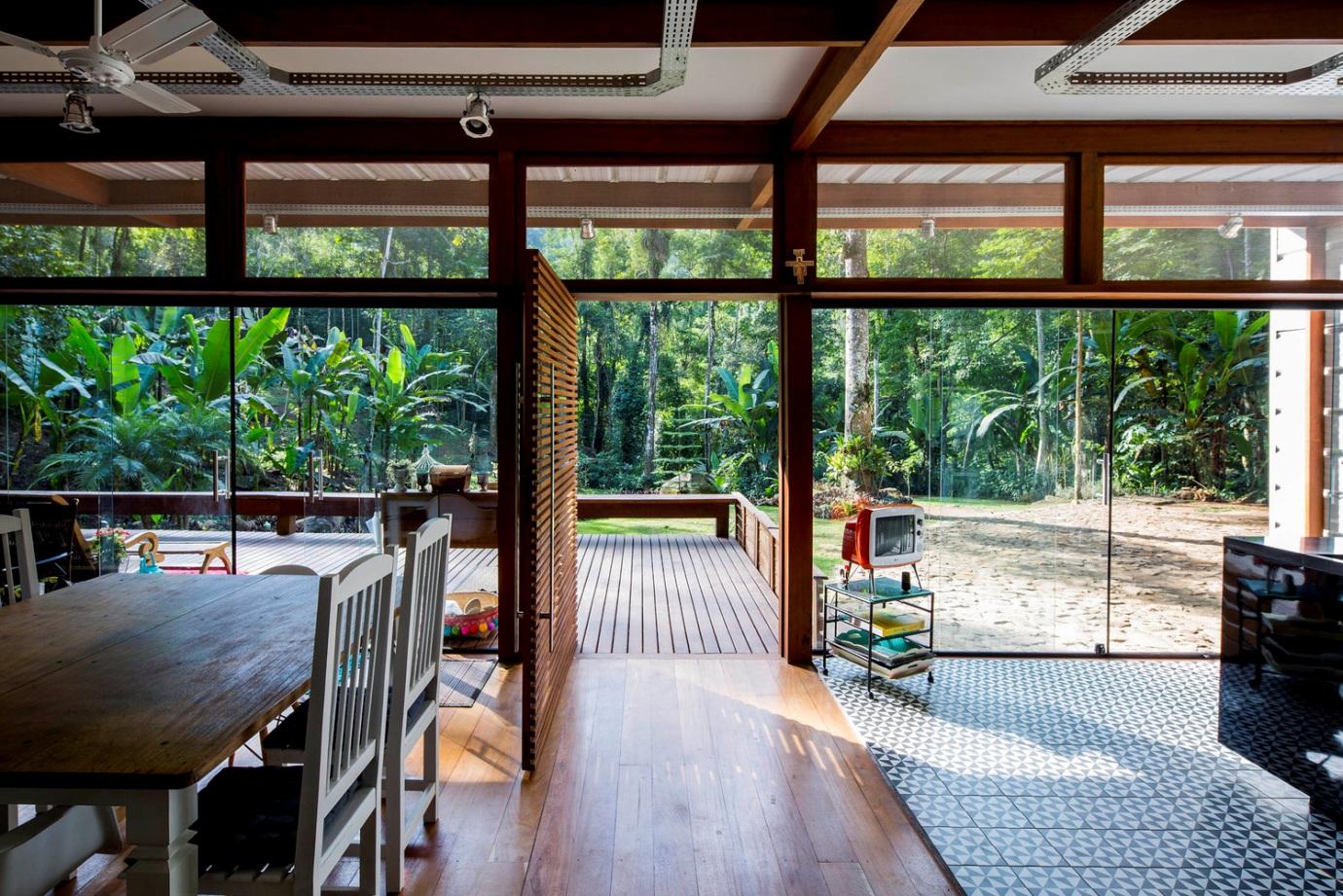 خانه دکوراسیون داخلی ویلا دیزاین اتاق خواب تراس آشپزخانه