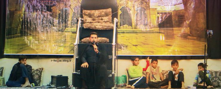 مجلس عزای شهادت امام حسن عسکری (ع) در بردخون