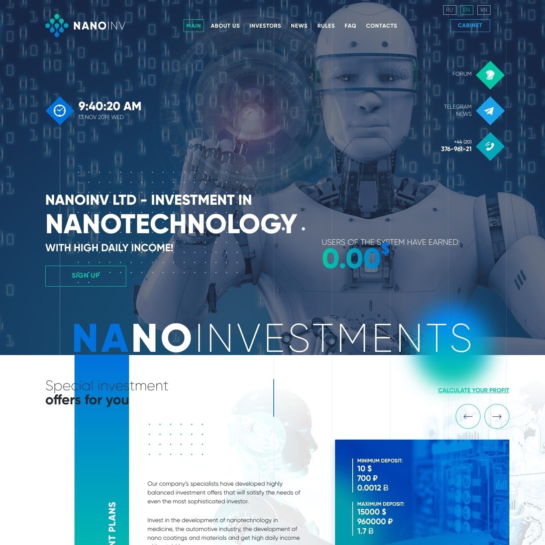 سایت سرمایه گذاری Nanoinv