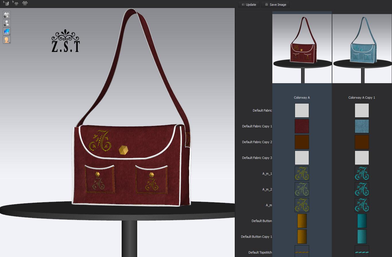 My sample work in Marvelous Designer and CLO3D-N54 :: نرم افزار