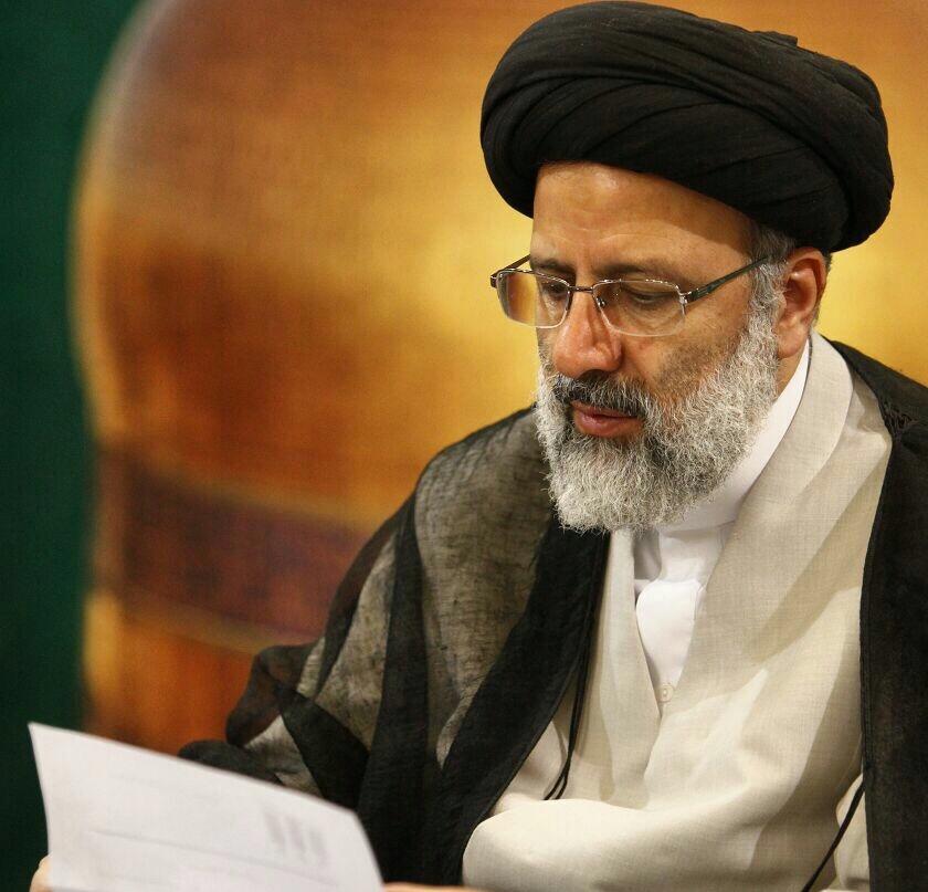 پیام حجه الاسلام دکتر رئیسی بمناسبت حادثه تلخ معدن آزادشهر
