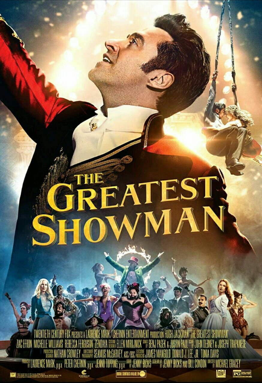 The greatest showman- 2017