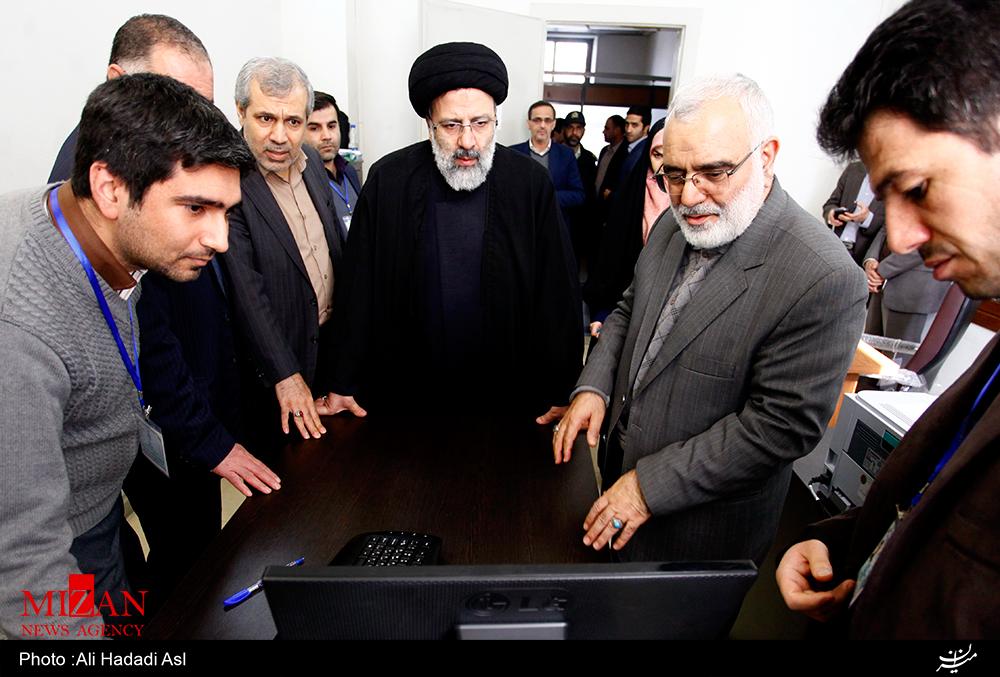 بازدید دادستان کل کشور از ستاد پاسخگویی به استعلامات انتخاباتی