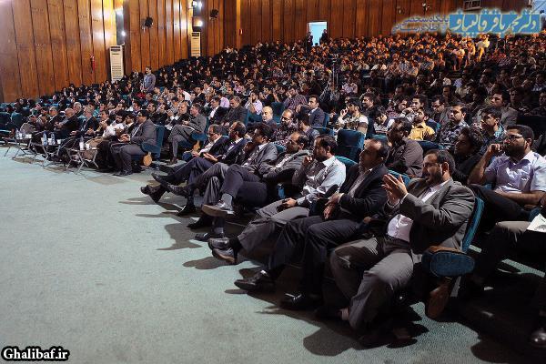 جلسه پرسش و پاسخ دانشجویی در دانشگاه شیراز